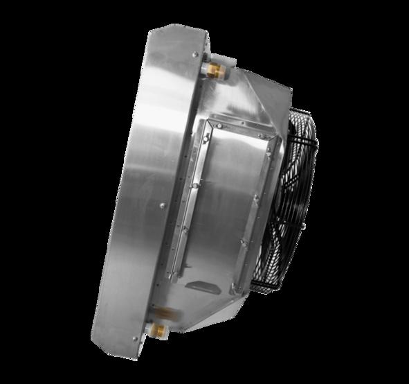 Water fan heater <b>TREVENT AGRO-70</b>. Фото 4