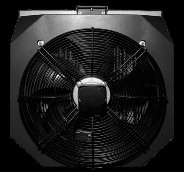 electric fan heater <b>TREVENT EL 22,5-380</b>. Фото 3