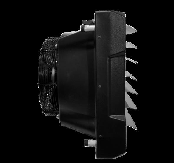 Water fan heater <b>TREVENT ABS-10</b>. Фото 5