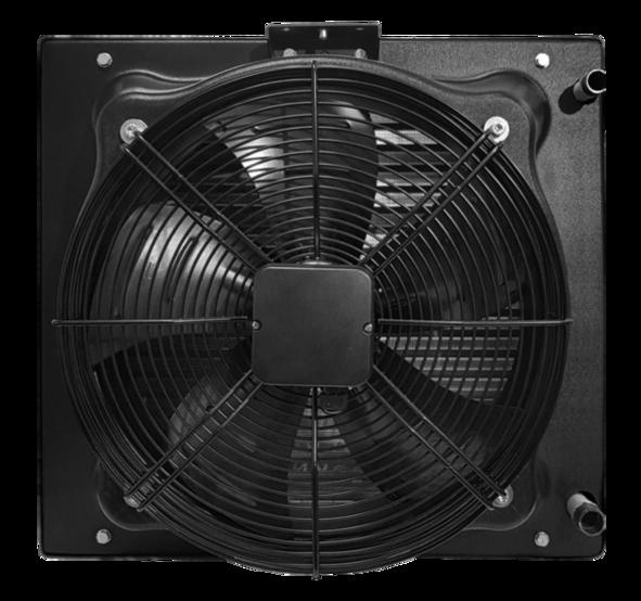 Водяний тепловентилятор <b>TREVENT ABS-50</b>. Фото 4