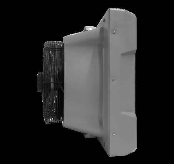 Водяний тепловентилятор <b>TREVENT AGRO ABS-40</b>. Фото 3