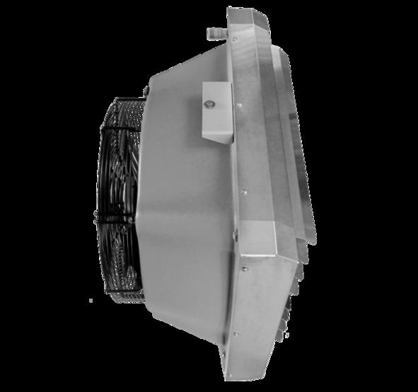 Водяний тепловентилятор <b>TREVENT AGRO ABS-70</b>. Фото 5