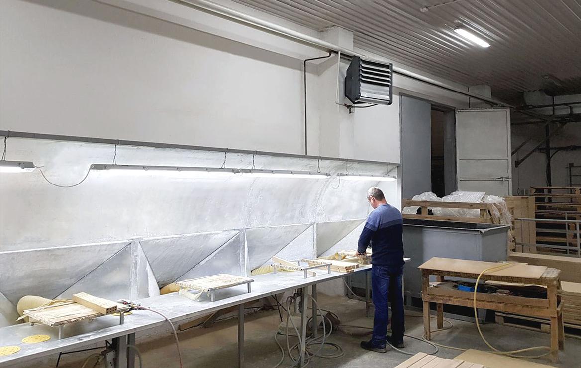 Ogrzewanie warsztatów stolarskich