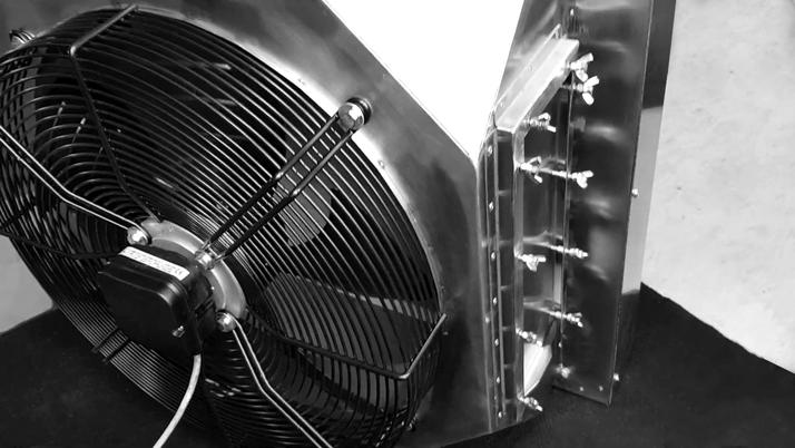 Тепловентилятор TREVENT AGRO - 55